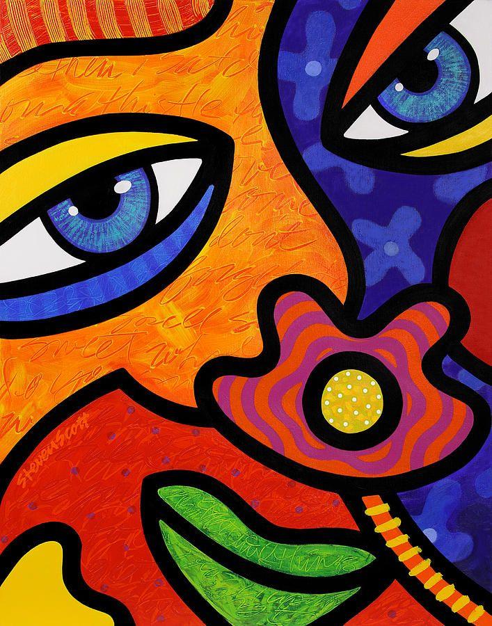 Lilli Lilligrin Painting  - Lilli Lilligrin Fine Art Print