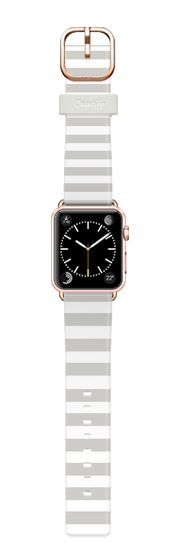 Casetify Apple Watch Band (38mm) Casetify Band - Gray Stripes by Allyson Johnson #Casetify Sale! Up to 75% OFF! Shot at Stylizio for women's and men's designer handbags, luxury sunglasses, watches, jewelry, purses, wallets, clothes, underwear & more!