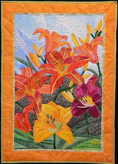 """Lilies Of The Field, 28 x 20"""", by Pamela Druhen"""