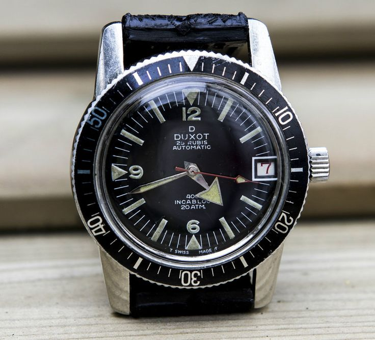 Vintge Divers Watch, all steel, automatic, 200m