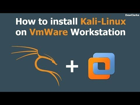 How To Install Kali Linux 2017.2 On Vmware Workstation With Full Screen ...