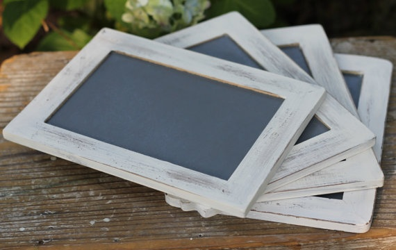 Rustic Wedding Chalkboard Signs Or Favor Menu by MichelesCottage, $15.00