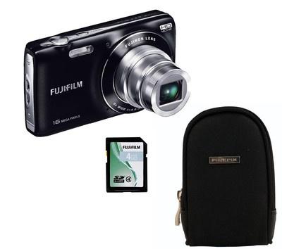 Die Fujifilm FinePix JZ250 ist ein kompakte Kamera mit 16 Megapixel CCD-Sensor. Die Digitalkamera besitzt einen 25 mm-Weitwinkel und einen optischen 8-fach Zoom sowie einen optomechanischen Bildstabilisator.