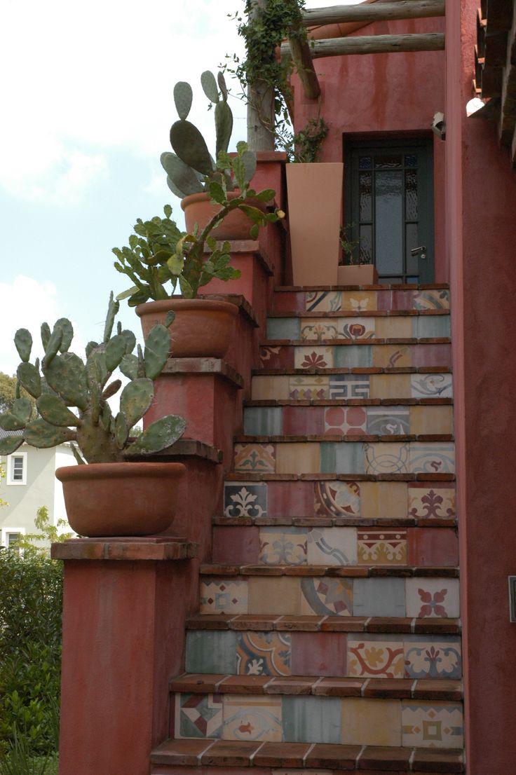 817 best images about mexican gardens on pinterest - Exteriores de casas rusticas ...