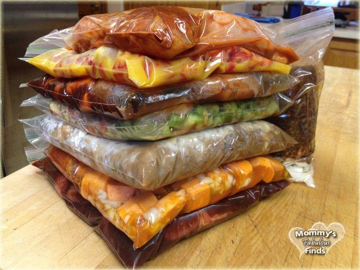 Orange Chicken, BBQ Spareribs, Cheesy Chicken Potato & Broccoli, Honey Garlic Chicken, Beef Stroganoff, Nacho Chicken, Chicken Sweet Potatoes, Crock Pot Pulled Pork