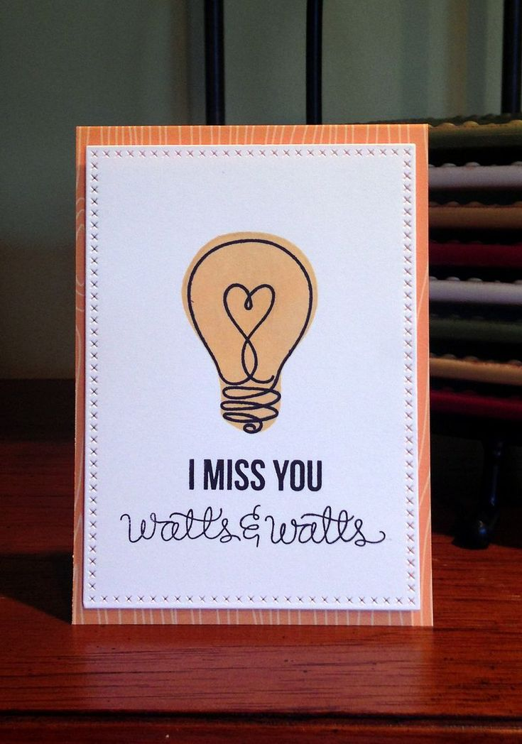 107 best miss you goodbye card ideas images on pinterest going miss you watts watts card simple stamping card more m4hsunfo