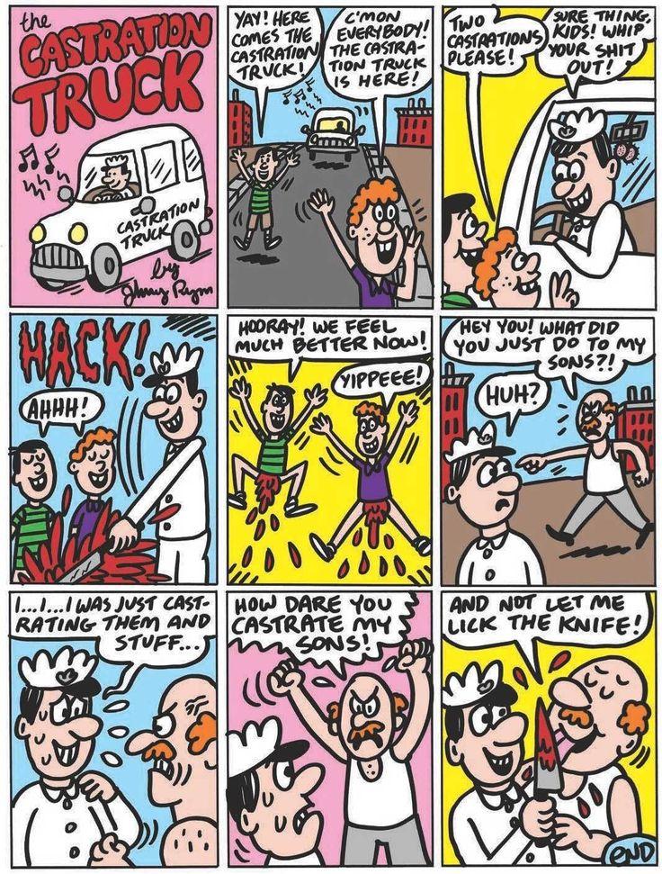 La página de Johnny Ryan: The Castration Truck | VICE | México