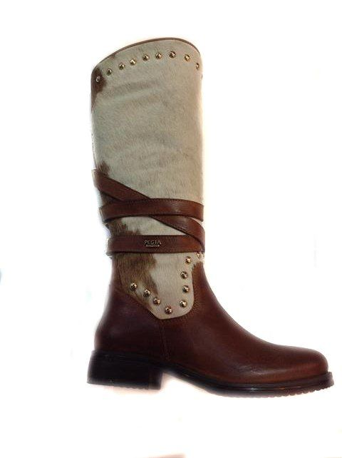 Classic riding boot with a twist. Fur topped and sheepskin lined. These are fabulous with a capital F. Exclusively at www.shoesatgoody2shoes.co.uk