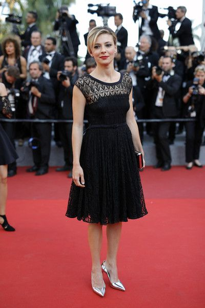 """Jasmine Trinca attends the """"Based On A True Story"""" screening during the 70th annual Cannes Film Festival at Palais des Festivals on May 27, 2017 in Cannes, France."""