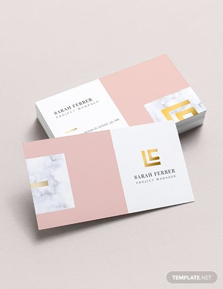 the business card template offers a simple and handy design for project managers everything is