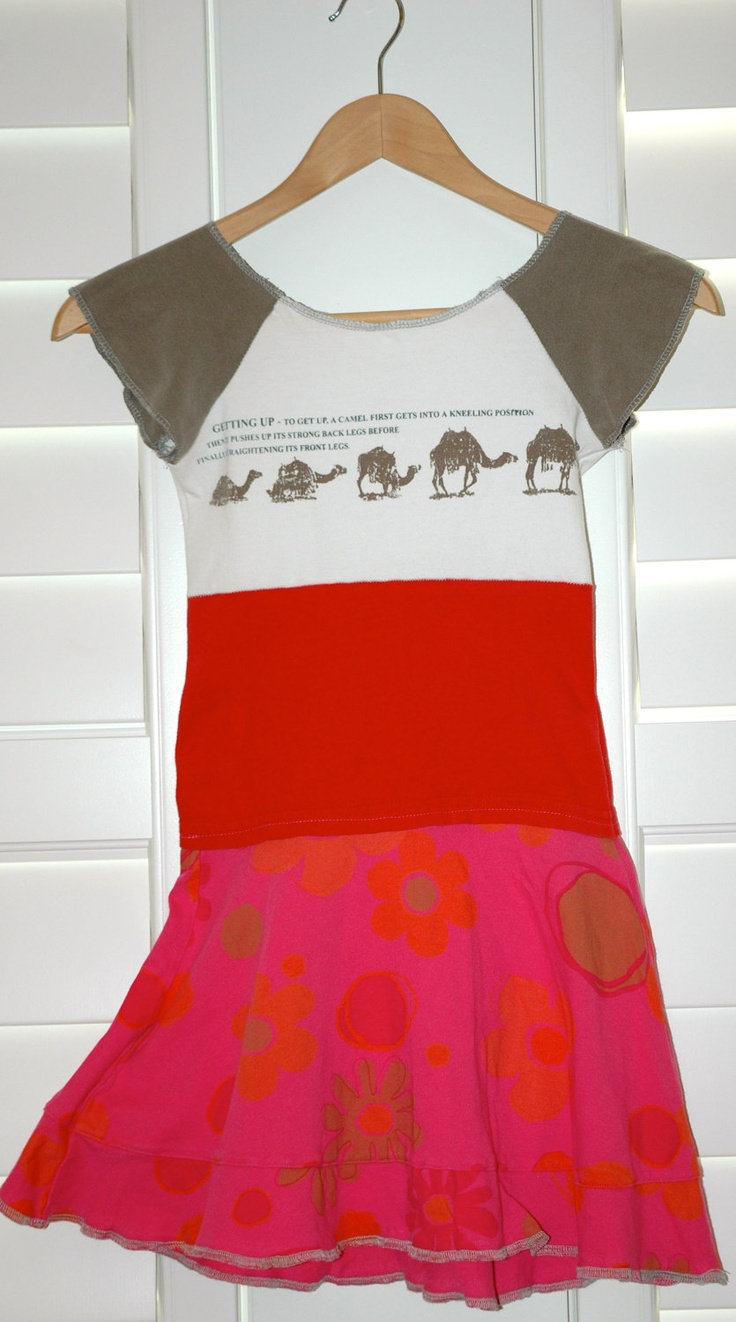 Camel Rider dress. $48.00, via Etsy. SOLD