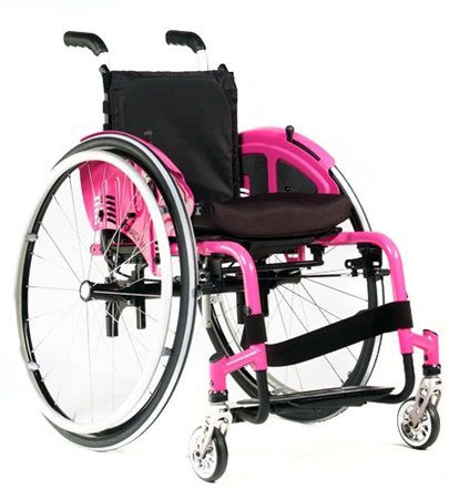 The lightest rigid wheelchair with growth adjustability The Zippie Simba is the perfect lightweight wheelchair with an overall product weight from