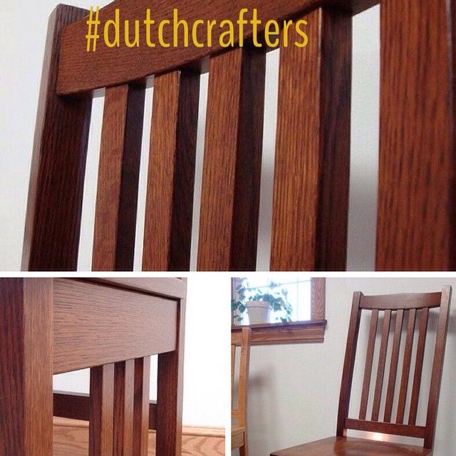 Our California Mission Dining Chairs: Excellent Craftsmanship. I Would  Recommend DutchCrafters To All My