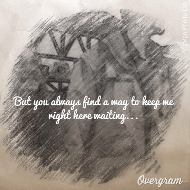 Right here waiting lyrics by staind