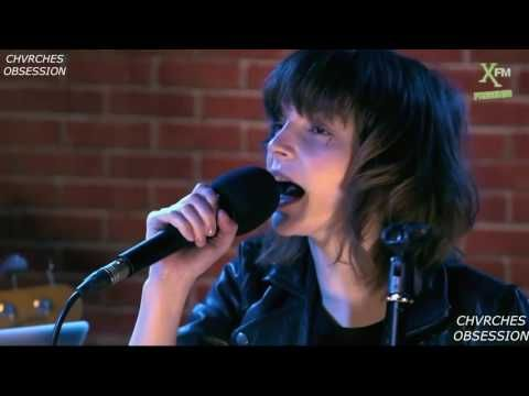 Chvrches Live at XFM — Lies, Guns, The Mother We Share