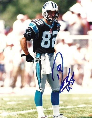 Don Beebe, Carolina Panthers, Signed, Autographed, 8x10 Photo, Coa, Rare Hard Photo to Find