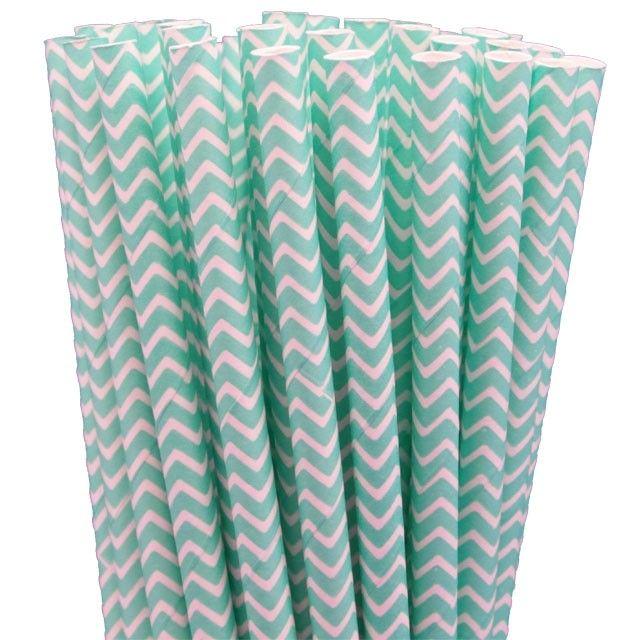 Greenmunch - Paper Straws - Robin Egg Blue Chevron, $4.50 (http://www.greenmunch.ca/paper-straws/standard-length/chevron/paper-straws-robin-egg-blue-chevron/)