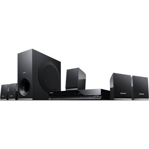 The #Sony DAV-TZ140 is a 5.1-channel home cinema system that also includes a DVD player. This Sony home theater system produces a combined 300 watts of total pow...