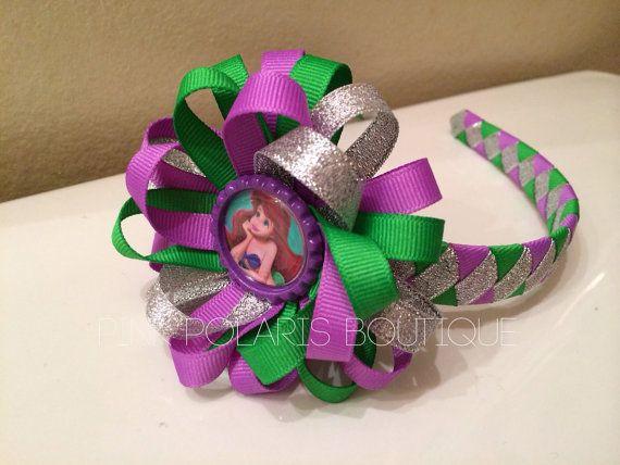 Ariel Woven Headband with Detachable Bow