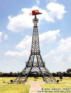 Eiffel Tower, Paris, Texas