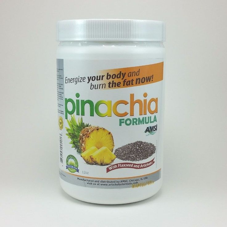 Find us on eBay! Burn the fat NOW! PinaChia - Natural Supplement with Chia, Energize your body and burn fat NOW!