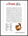 Pirate Word Searches