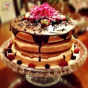 Naked Cake Diet sem gluten