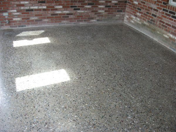 polished concrete floor with exposed aggregate - Google Search