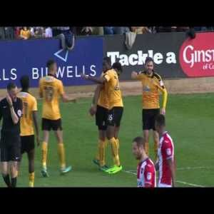 Will Norris Incredible Double Save vs Exeter City