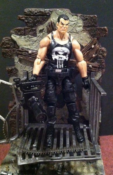 The Punisher (Punisher) Custom Action Figure