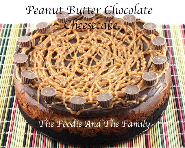 """""""peanut butter chocolate cheese cake""""   -- My next birthday cake?"""