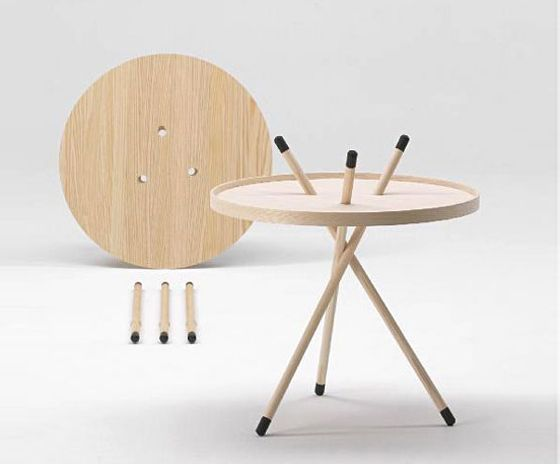 'Mikado' side table by Cecilie Manz for Fredericia