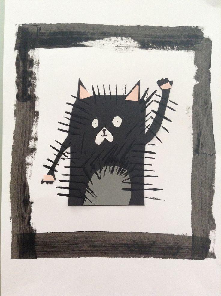 Splat le chat d coupage collage et impression avec un - Le chat de barbie ...