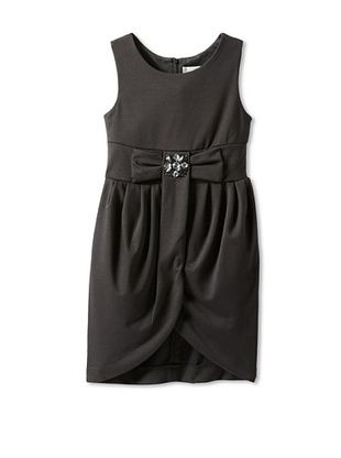 63% OFF Blush by US Angels Girl's Tulip Dress with Bow (Black)