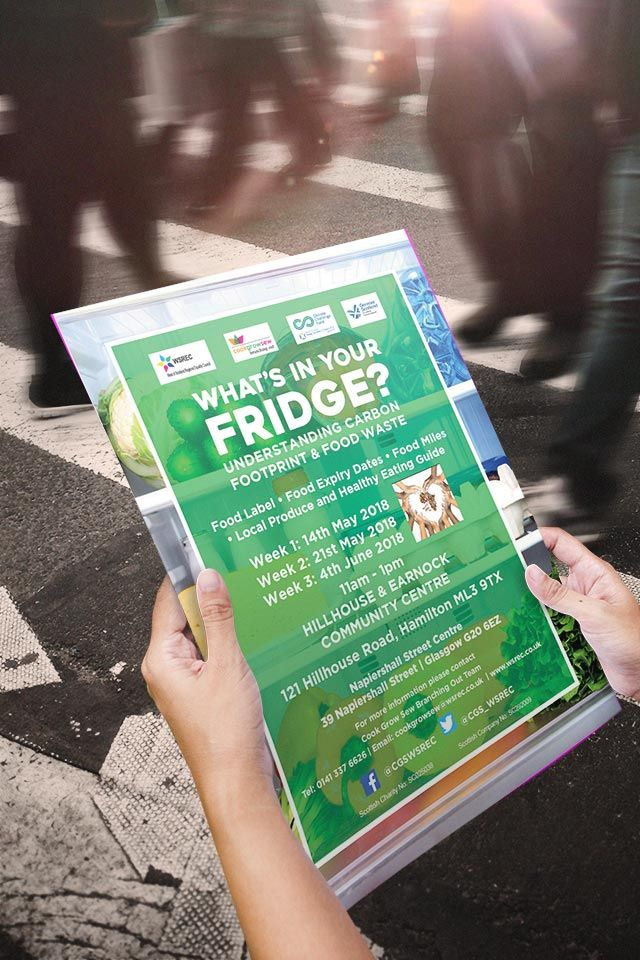WHAT'S IN YOUR FRIDGE? Posters for marketing What's In Your Fridge part of  the Cook Grow Sew's Project. #graphicdesig… | Carbon footprint, Date recipes,  Food waste