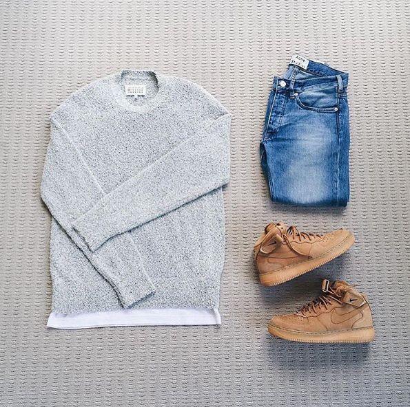 #maisonmargiela #sweater #commedesgarcons #tshirt #acnestudios #jeans #nike #airforce1
