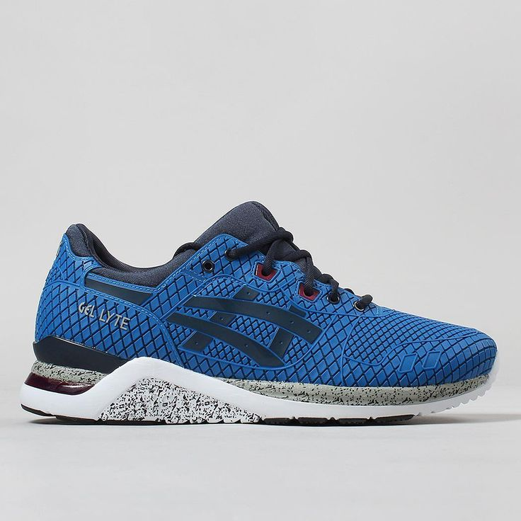 Asics Gel Lyte EVO Shoes Samurai Pack - Mid Blue/Navy
