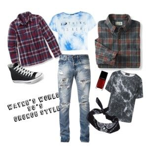 Wayne's World, 90's Grunge Fashion