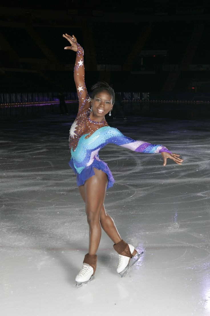 Surya Bonaly Such A Powerful And Entertaining Skater