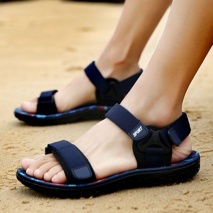 Sandals Men 2017 Vintage Rome Style Summer Beach Breathable