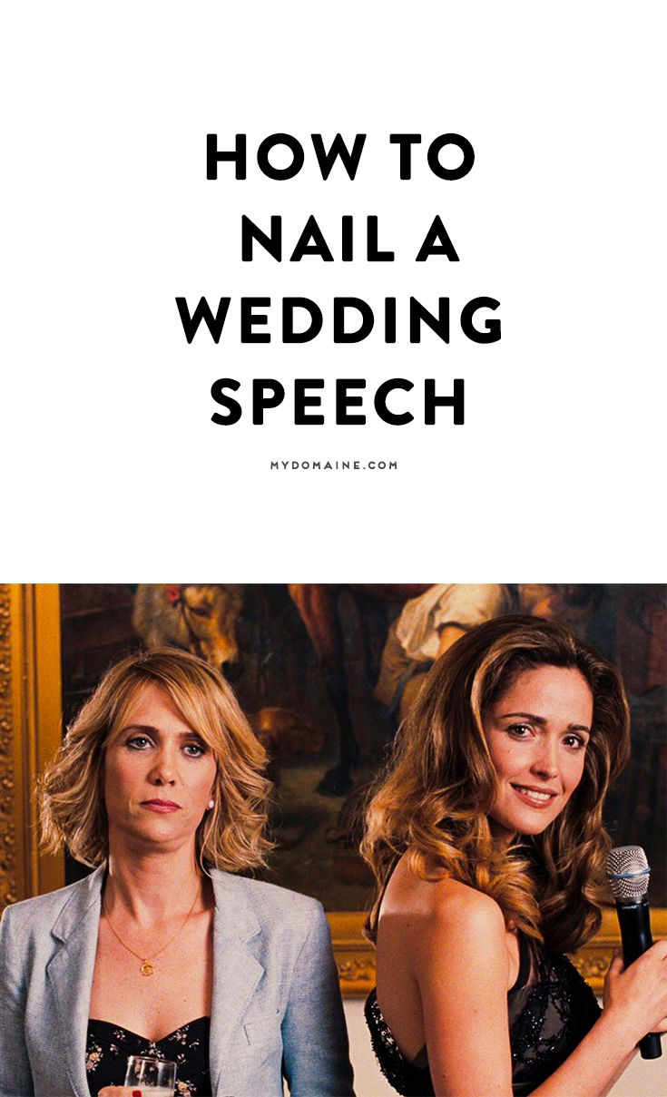 Writing a wedding speech? Read these helpful tips on how to win the crowd (and happy couple) over