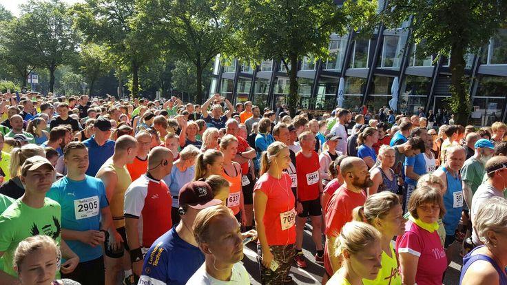 26.06.2016 22.Hella Hamburg Halbmarathon.Super Stimmung und toll organisiert😀👍