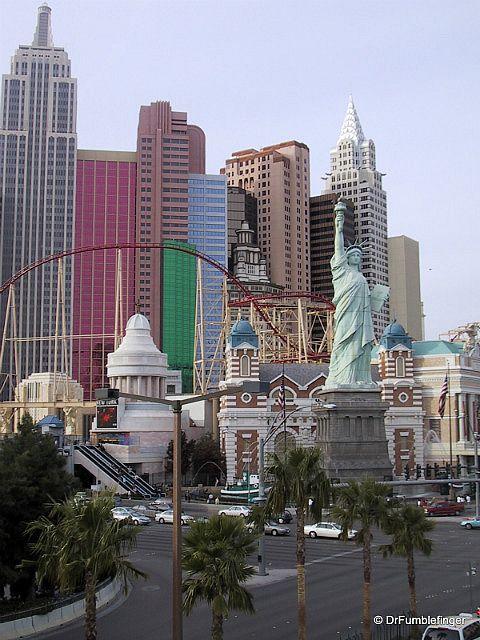 Las Vegas -- New York, New York Resort, Las Vegas, NV. Rose the rollercoaster like 30 times in a row haha