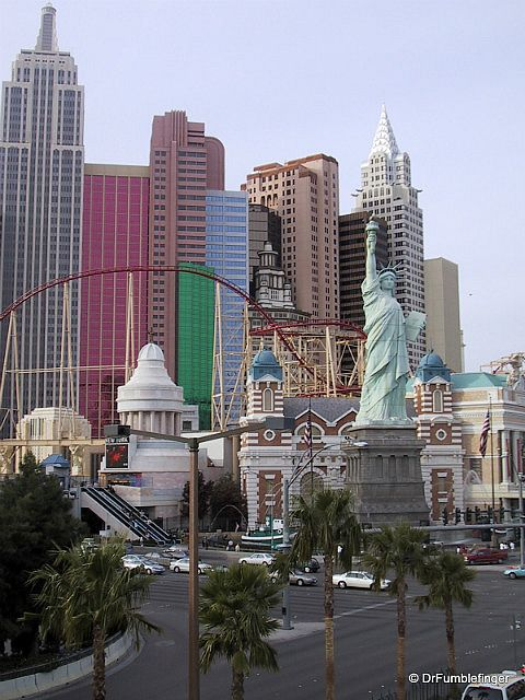 Las Vegas -- New York, New York Resort, Las Vegas, NV. Rose the rollercoaster like 30 times in a row haha