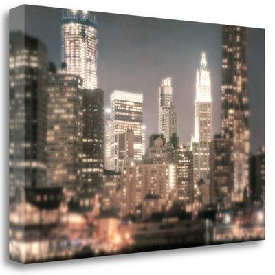 Tangletown Fine Art 'In a New York Minute' by Natalie Mikaels Graphic Art on Wrapped Canvas