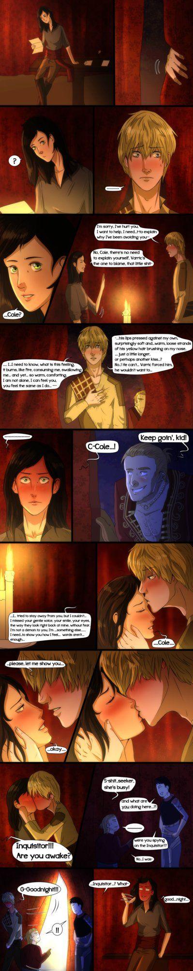 Dragon Age Inquisition- Comic- Confession by MsArtisticStuff on DeviantArt