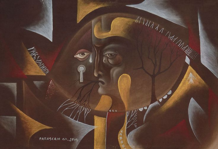 Picturi de Gheorghe Parascan | Meditatie | Boutiq Art