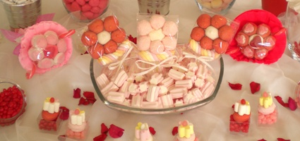 #wedding #candy #mashmallow #caramelle
