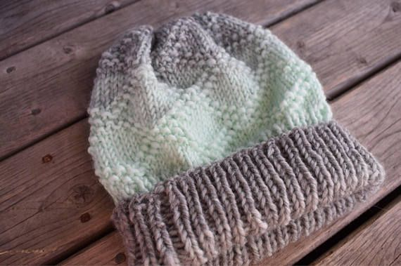 Hand Knit Diamond Design Hat Wonter Toque - The Hazel Hat (pattern by Miskunn) Nat in the Hat Knits on Etsy https://www.etsy.com/ca/shop/NatInTheHatKnits?ref=ss_profile Follow @iamnatinthehat on Instagram