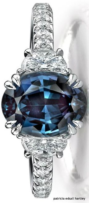 Alexandrite & Diamond Ring                                                                                                                                                                                 More